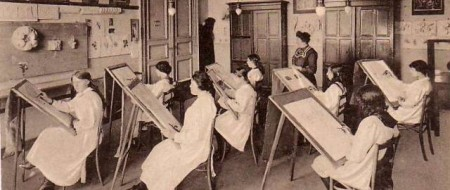 1865 : Création de l'Association pour l'enseignement professionnel des femmes par Jonathan Bischoffsheim