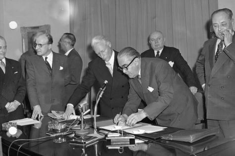 Le Pacte scolaire – 1958