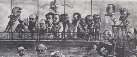 1884 : Retour du parti catholique au Gouvernement. Défaite des libéraux.