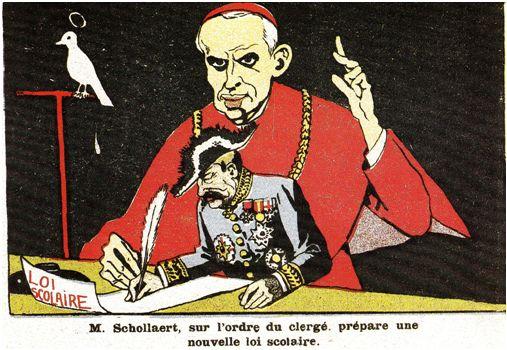 1911: Projet de loi Schollaert- Le bon scolaire